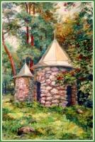Голенецкая С.В. «Малое Копорье». Холст, масло, 40х50 см, 9000 руб
