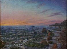 Гасич В.Г. «Балтийская заря». Холст, масло, 60х80 см.