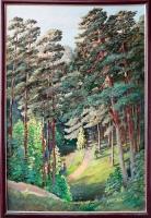 Серегин С.И. «Сосновый Бор». Холст, масло, 90х60 см.
